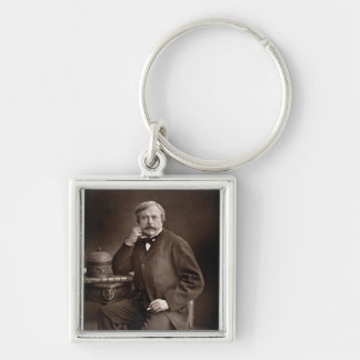 Edmond de Goncourt (1822-96) von 'Galerie Contemp Schlüsselanhänger