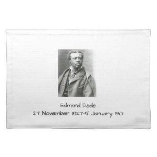 Edmond Dédé Tischset