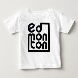 Edmonton in einem Kasten-Baby-Shirt Baby T-shirt