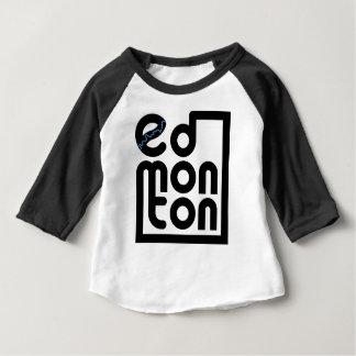 Edmonton in einem Kasten-Shirt Baby T-shirt