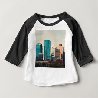 Edmonton-Skyline Baby T-shirt