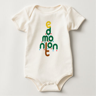 Edmonton-Weihnachtsbaum-Bodysuit Baby Strampler