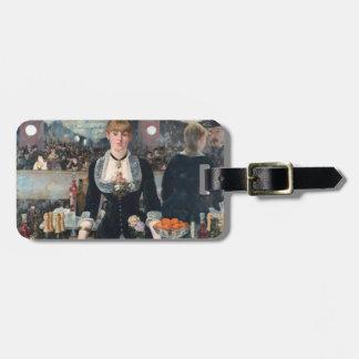 EDOUART MANET - Ein Bar beim Folies-Bergere 1882 Kofferanhänger