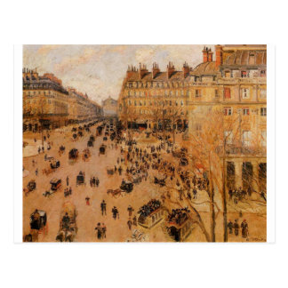 Effekt Place du Thretre Francais Sun durch Camille Postkarte