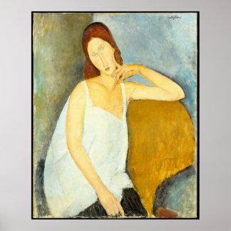 Ehefrau Amedeo Modigliani Porträt Poster