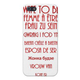 Ehefrau zum zu sein iPhone 5 case