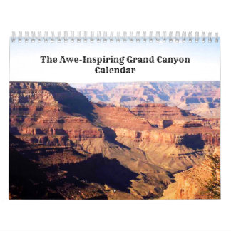 Ehrfurcht-Inspriring Grand Canyon Abreißkalender