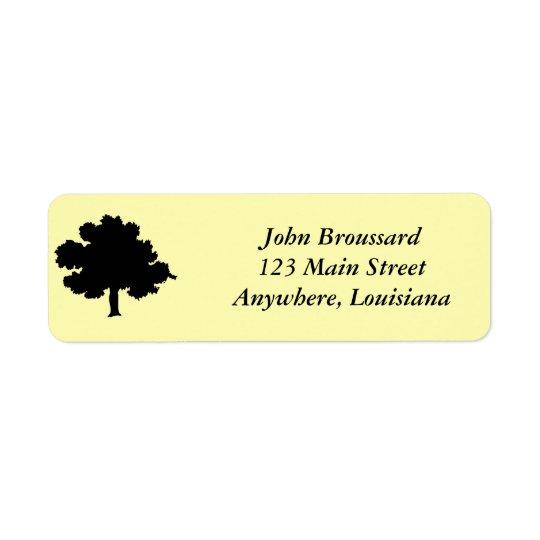 Eichen-Adressen-Etikett