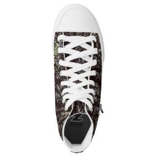 Eichen-Barke Hoch-geschnittene Sneaker