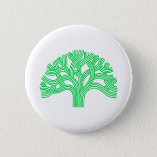 Eichenbaum Oakland Limon Runder Button 5,7 Cm