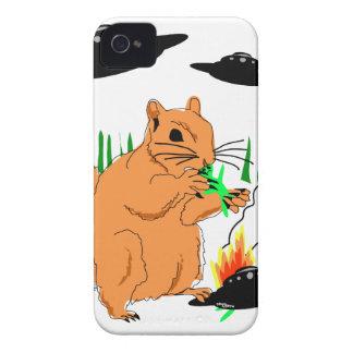 Eichhörnchen gegen Außerirdischen iPhone 4 Cover