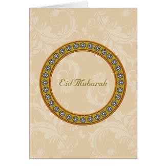 Eid Mubarak Karte