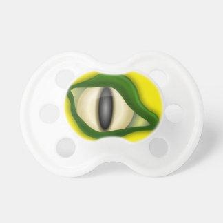 Eidechsen-Augen-Attrappe, Schnuller