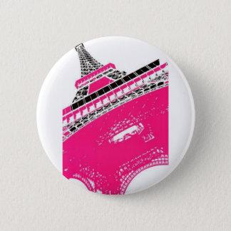 Eiffel-Tower-Poster-C13450125 Runder Button 5,7 Cm