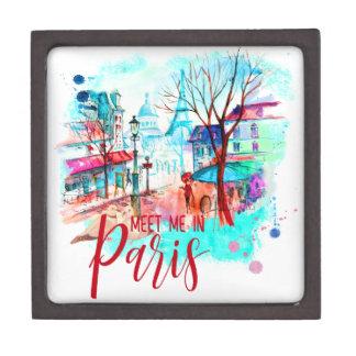 Eiffel-Turm treffen mich im Schmuckkiste