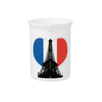 Eiffelturm-Getränkekrug Krug