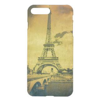 Eiffelturm iPhone7+ Clearly™ Ablenker-Kasten iPhone 8 Plus/7 Plus Hülle