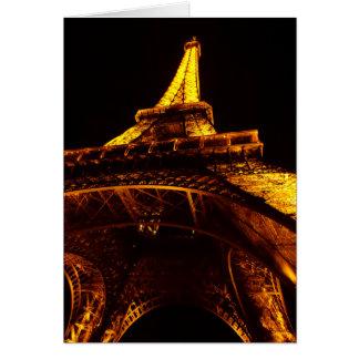 Eiffelturm Karte