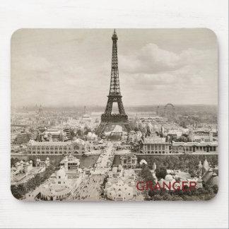 Eiffelturm-Mausunterlage Mousepad