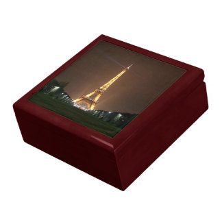Eiffelturm nachts geschenkbox