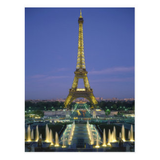 Eiffelturm, Paris, Frankreich 2 Postkarten