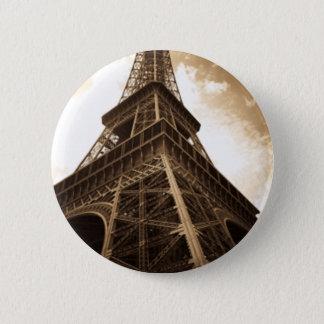 Eiffelturm Paris Runder Button 5,7 Cm