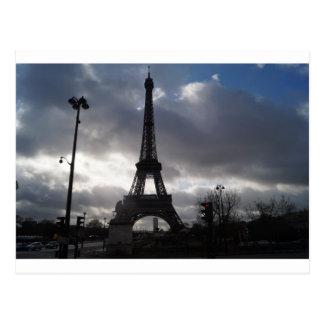 Eiffelturm-Postkarte Postkarte