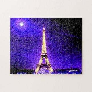 Eiffelturm Puzzle