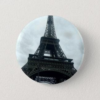 Eiffelturm Runder Button 5,1 Cm