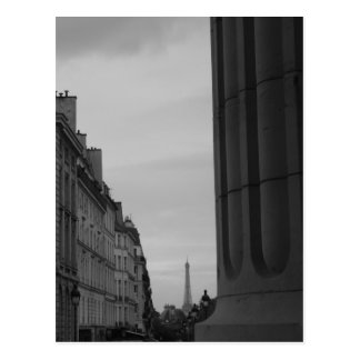 Eiffelturm vom Pantheon Postkarte
