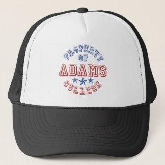 Eigentum von Adams-Uni Truckerkappe