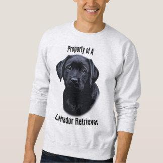 Eigentum von einem Labrador - i-Liebe mein Sweatshirt