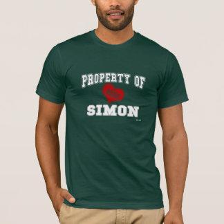 Eigentum von Simon T-Shirt