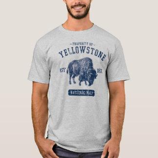 Eigentum von Yellowstone Nationalpark T-Shirt