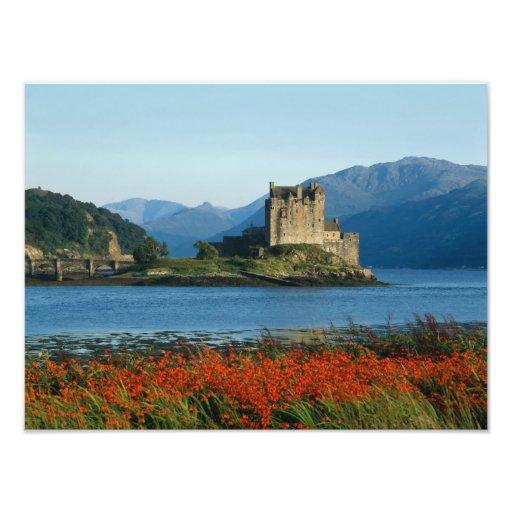 Eilean Donan Schloss, Hochländer, Schottland 3 Fotodrucke
