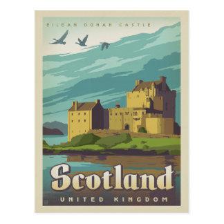 Eilean Donan Schloss - Schottland Postkarten