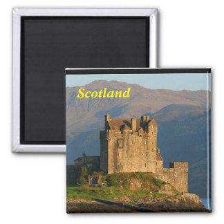 eilean donan Schlossmagnet Schottlands Quadratischer Magnet