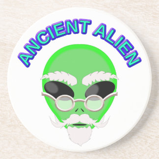 Ein altes alien getränkeuntersetzer
