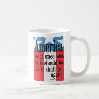 """Ein amerikanischer Toast-"" Kaffee-Tasse Kaffeetasse"