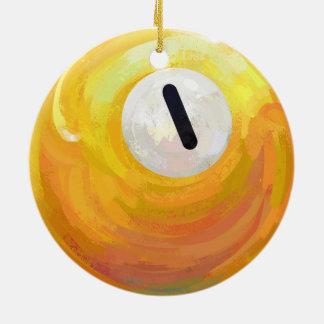 Ein Ball Keramik Ornament