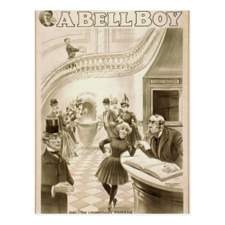 Ein Bell-Junge Postkarte