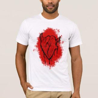 Ein blutendes Herz T-Shirt