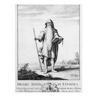 Ein Druide Postkarte