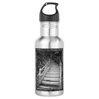 Ein dunkler Weg Edelstahlflasche
