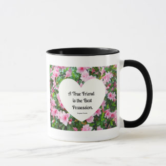 Ein echter Freund ist der beste Besitz Tasse