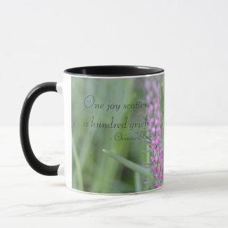 Ein Freude-Kaffeetassen Tasse