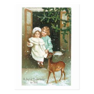 Ein frohes Weihnachten zu Ihnen Postkarten