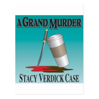 Ein großartiger Mord Postkarte