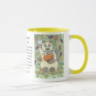 Ein Grund-Toast zur Ernte-Zeit Tasse