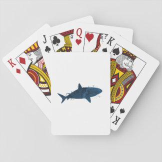 Ein Haifisch Spielkarten